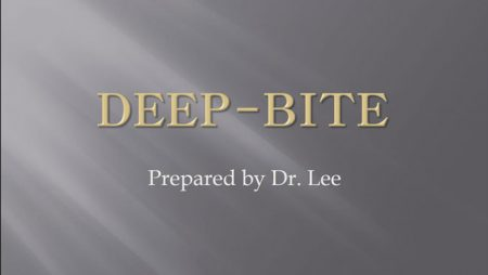 [강의 18] Dental Deepbite