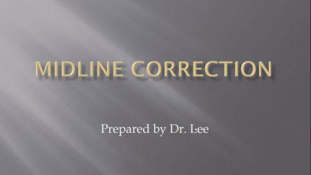 [강의 19] Midline Correction