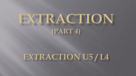 [강의 27] Seminar #10 – Extraction  (Part 4) – U5L4 발치